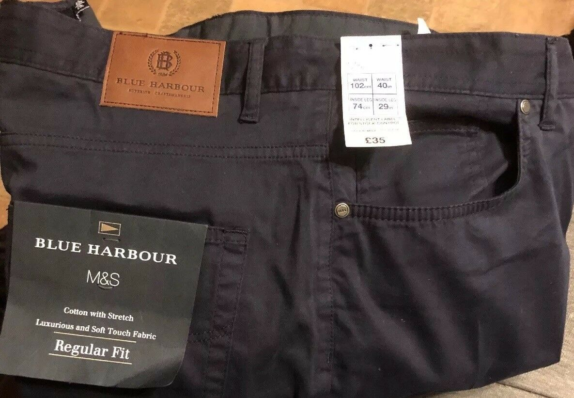 Mark And Spencer Mens Trousers