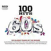 VARIOUS ARTISTS 100 Hits of the 60s  5 CD BOX SET  NEW - NOT SEALED