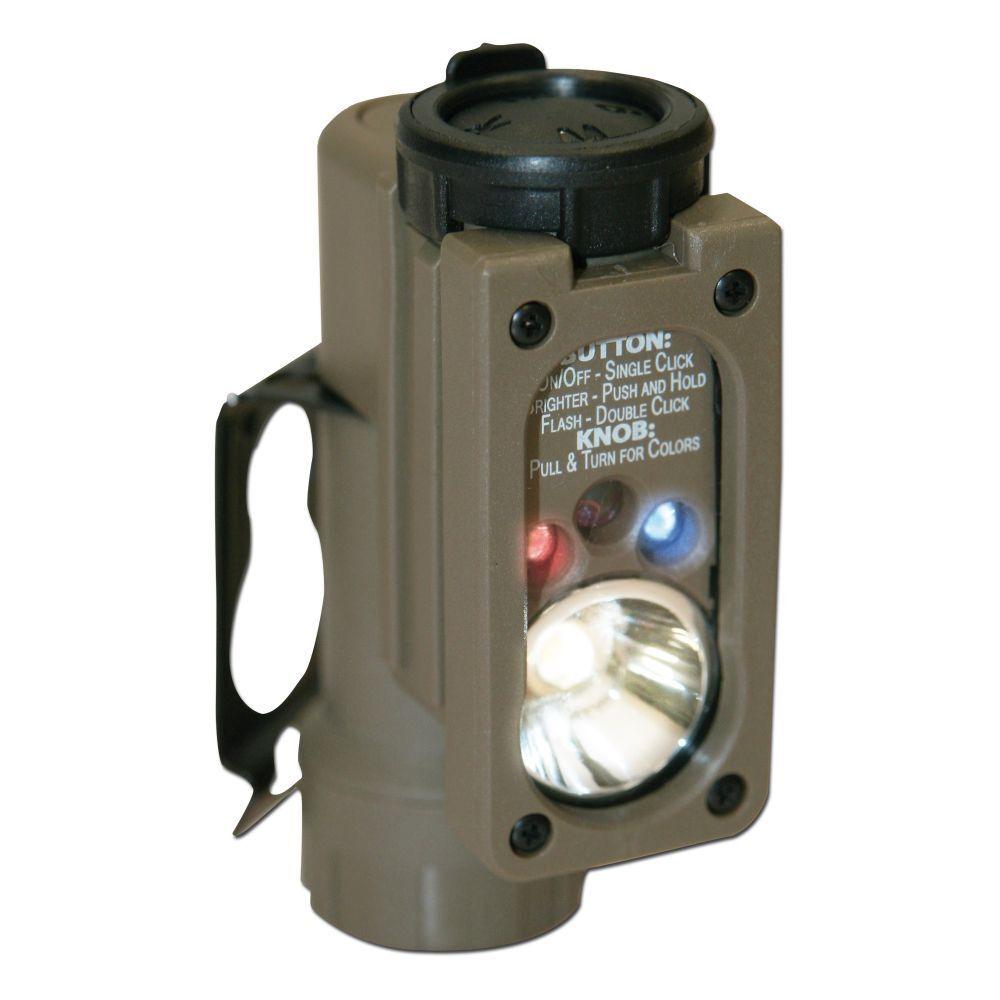 Streamlight Lampe Sidewinder Compact Helmlampe Leuchte Helmlicht coyote