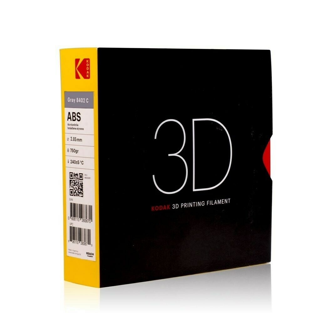 Filament 750g Black For 3d Printer High Impact Resistance New Kodak 2.85mm Pla Computers/tablets & Networking