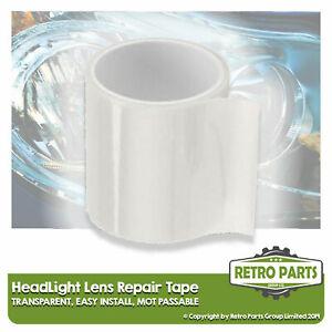 Headlight Lens Repair Tape for Classic Car.  Front Clear Light Lamp MOT Fix