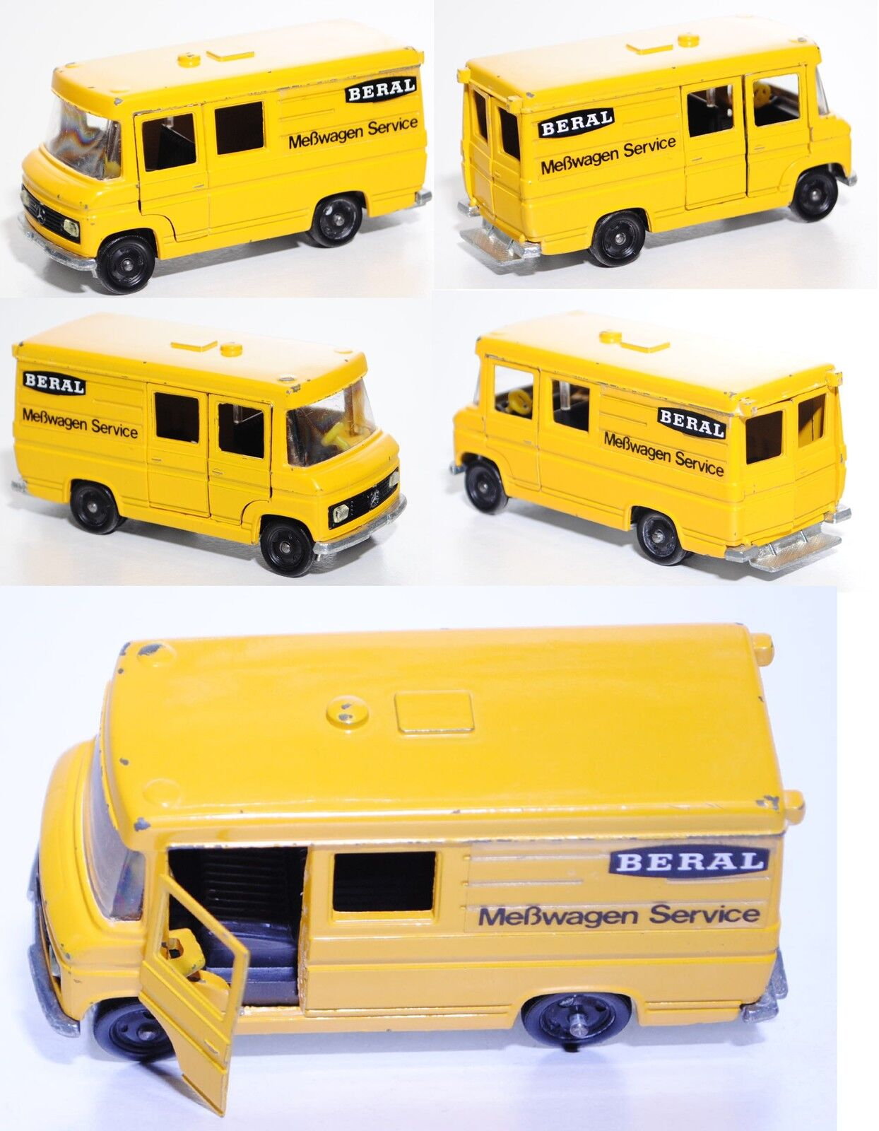 SIKU v305 Mercedes-Benz L 406 D courrier, BERAL, spécial modèle, modèle publicitaire