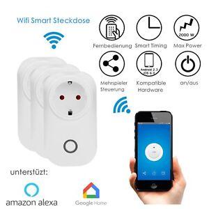 Wifi Smart steckdose SMART+ Plug WLAN Smart Home App Fernbedienung ...