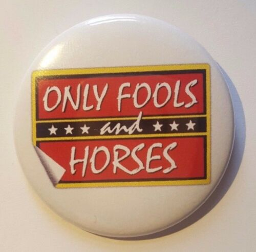 Only Fools and Horses Logo badge pin 50mm