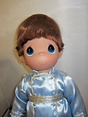 "Disney PRINCE from Cinderella 12/"" Precious Moments Doll"