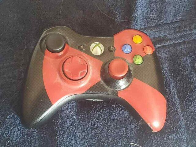 Official Microsoft Branded XBOX 360 Wireless Controller Limited Radioactive