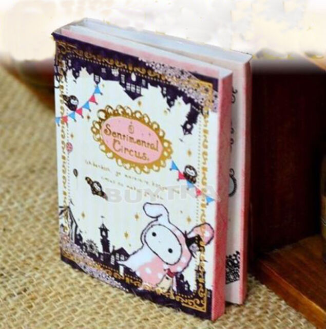 New Japan San-X 6 Fold Circus Post It Bookmark Note Pad Flagt Memo Sticky Notes