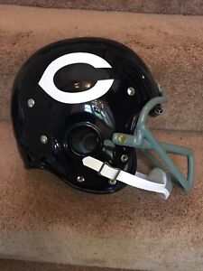 3fa57170 Details about Riddell Kra-Lite RK2 Football Helmet 1963 Chicago Bears 50th  NFL Championship