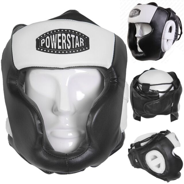 Boxing Head Guard Face Protector Junior Gym Thai Kick Martial Arts Headguard MMA