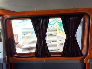 vw t5 t6 transporter caravelle gardinen vorh nge nur f r. Black Bedroom Furniture Sets. Home Design Ideas