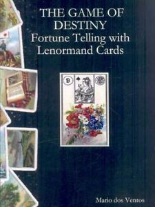 Details about The Game of Destiny - Fortune Telling with Lenormand Cards by  Mario Dos Ventos (