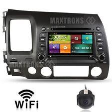 Car DVD GPS Radio Stereo headunit for Honda CIVIC 2006 - 2011 Free Camera