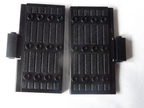 NEW LEGO 30223 BLACK  STOCKADE WITH BLACK  HINGE