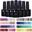 5-Bottles-set-7-5ml-Vernis-a-Ongles-UV-Gel-Polish-Nail-Art-Manucure-UR-SUGAR thumbnail 1