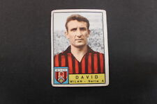 [F340-(20)]CALCIATORI 1963-64 - PANINI - NEW - FIGURINA STICKER -DAVID. MILAN
