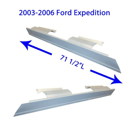 FREE SHIPPING 2003 2004 2005 2006 FORD EXPEDITION  ROCKER PANELS 1 PAIR
