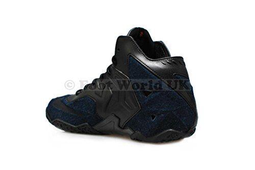 Homme Nike-Lebron XI EXT Denim QS  RARE  - - - 659509 004-Noir Baskets 5fe19c