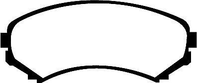 EBC Kit De Freno Delantero Discos /& Almohadillas Para Mitsubishi Grandis 2.4 2004-2011