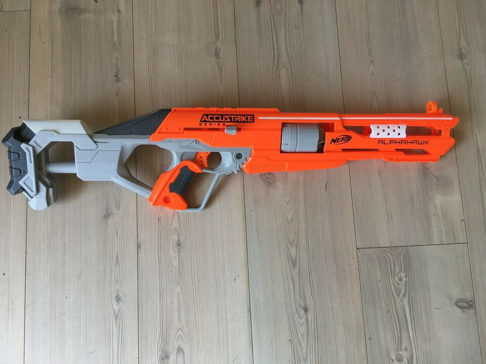 Våben, Skumpistoler m tilbehør, Nerf