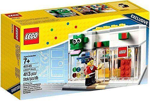 LEGO Store Opening Promo White LEGO Store Shop Set 40145