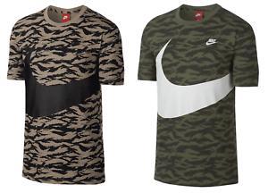 b9cfc353 NEW Men's Nike Sportswear AOP Camo Large Swoosh MSRP $90 | eBay