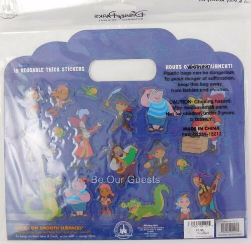 Disney Parks Jake Neverland Pirates Peel and Play Activity Kit New Reusable