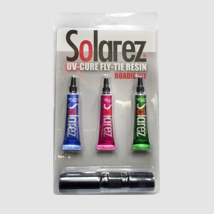 Solarez Fly Tie UV Resin Roadie Kit