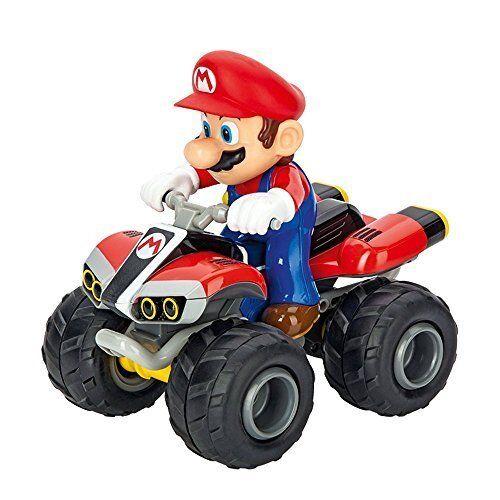 Mario Kart TM 8, Mario 2,4 GHZ Full Func - Quad - 1 20 - Carrera RC