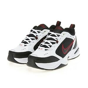3feeafb455a New Nike Air Monarch IV Training Shoes Sneakers - White Black Red ...