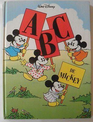Abc De Mickey Walt Disney Abecedaire Ebay