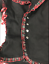 Womens black SDL xspunk Jacket with tartan trim.XK561