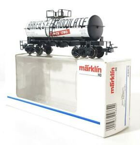 MARKLIN-4864-HO-GAUGE-3-RAIL-AMERICAN-BAKER-039-S-CHOCOLATE-BOGIE-TANK-CAR