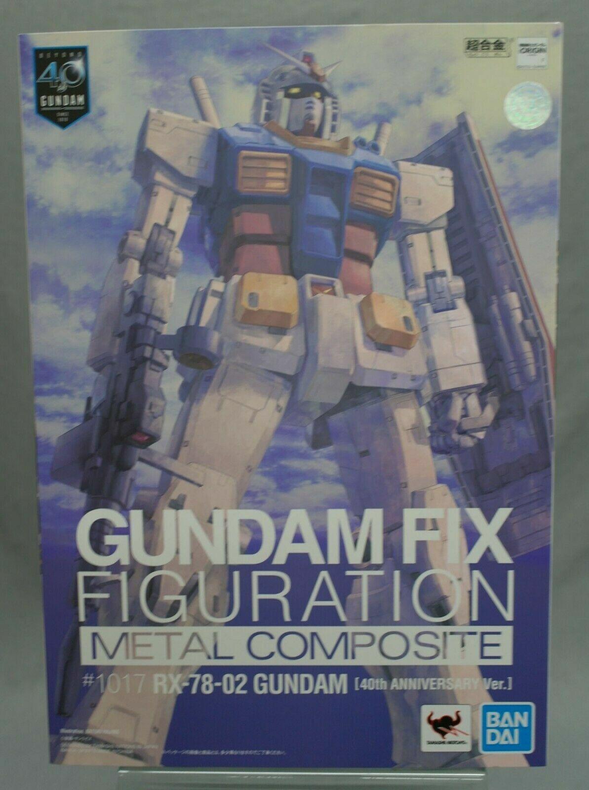 GUNDAM FIX cifraTION METAL COMPOSITE RX-78-02 Gundam  40th Commemoration Beai  ordina adesso