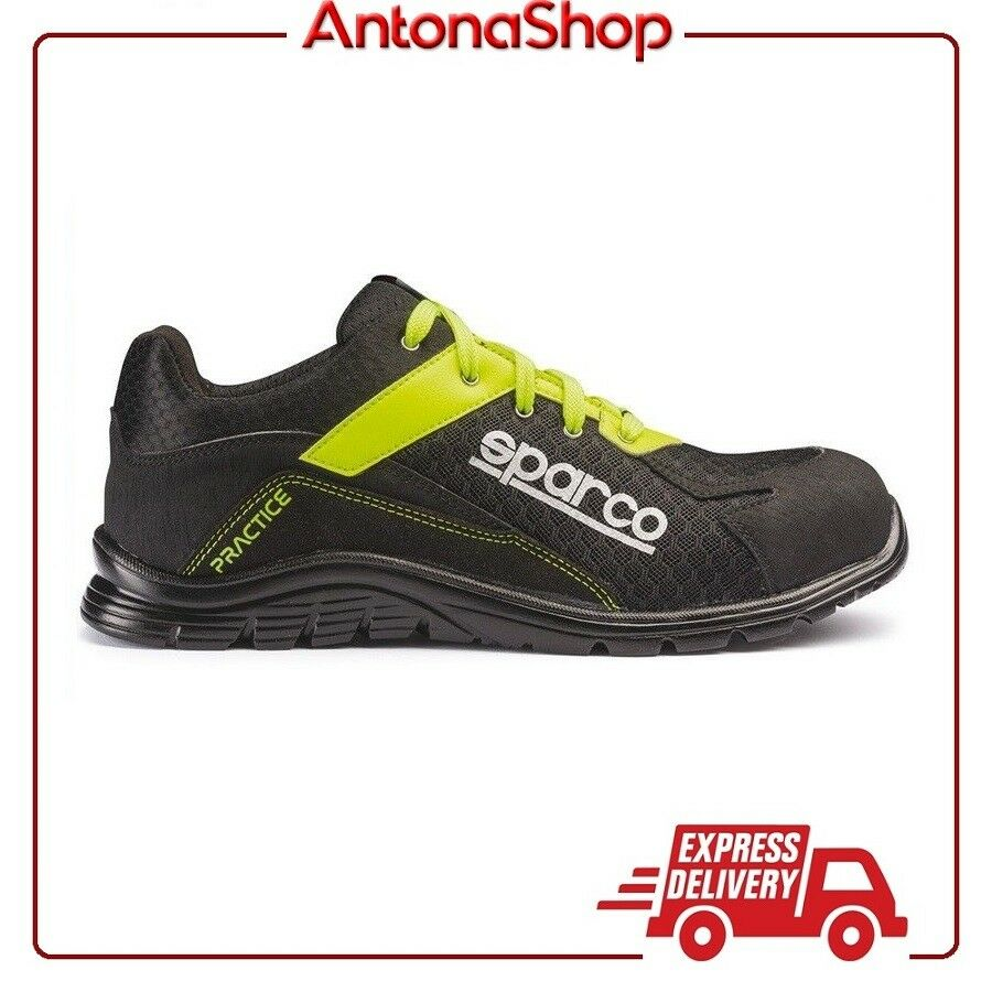promozioni eccitanti Scarpe Scarpe Scarpe Antinfortunistica Sparco Practice S1P NRGF Ultra leggera Scarpa Running  negozio fa acquisti e vendite