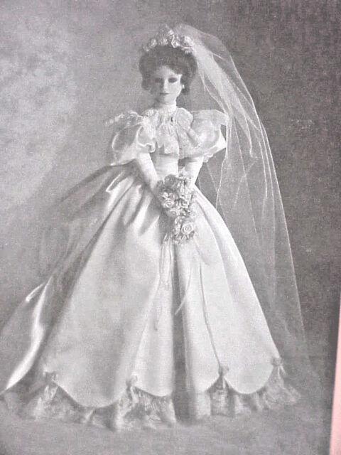 ASHTON-DRAKE DOLL ELIZABETH 1900'S WEDDING DRESS NIB 18