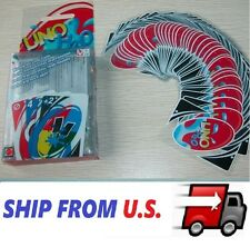 New Family Fun #1 UNO H2O Waterproof Clear Game Playing Plastic Card USA
