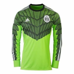 e1be842a1 Image is loading Adidas-Mexico-Goalkeeper-Soccer-Jersey-Memo-Ochoa-World-
