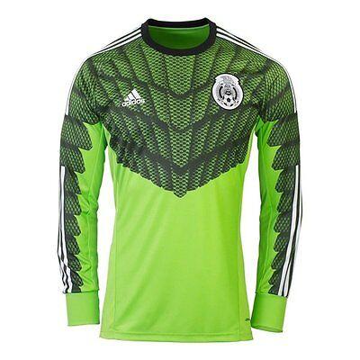 Adidas Mexico Goalkeeper Soccer Jersey Memo Ochoa World Cup Copa Del Mundo 3da845517
