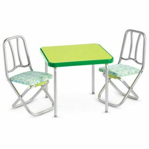 NIB  American Girl Melody's Table and Chairs  Melody