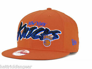 0f9e33c5a8e New York Knicks New Era 9Fifty NBA Basketball Court Madness Snapback ...