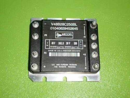 1PCS PER LOT V48B28C250BL VICOR DC-DC CONVERTERS 48-28V 250W