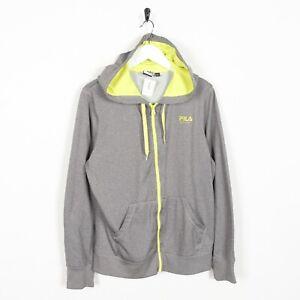 Vintage-Women-039-s-FILA-Small-Logo-Zip-Up-Polyester-Hoodie-Sweatshirt-Large-L