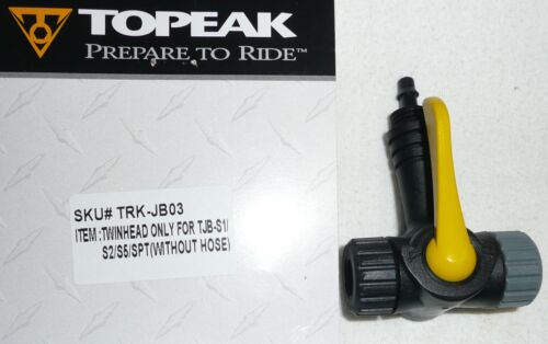 TOPEAK JOE blow pompe à vélo double tête seulement tête schrader /& presta JB03
