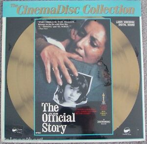 The-OFFICIAL-STORY-Argentina-Luis-Puenzo-Aademy-Award-Winner-Laserdisc-NEW