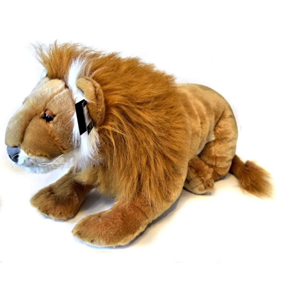 Giant 100cm Lion Lion Lion Soft Toy - Stuffed Plush Toy Suitable for all ages (0+) eb1d72