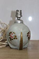 ancienne lampe de table art déco