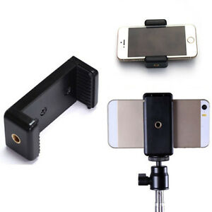 Universal-Mobile-Cell-Phone-Clip-Bracket-Holder-for-tripod-monopod-Stand-New