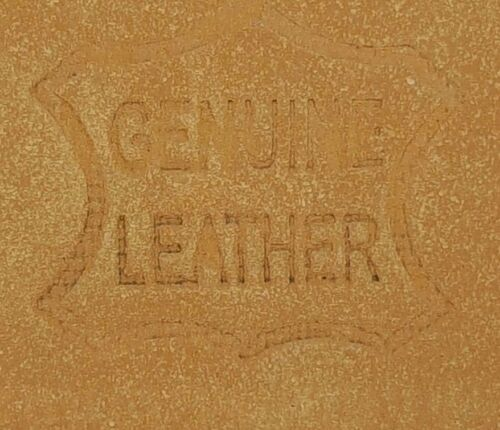 Men/'s Women/'s Leather Two Rows Silver Grommet Double Holes Black Belt All Sizes