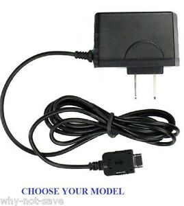 Wall outlet charger charging Cable cord wire for Many Pantech Phones New