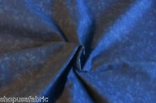 BLENDER DEEP BLUE MARBLED** TONES DAPPLE  on COTTON FABRIC Priced By The Yard